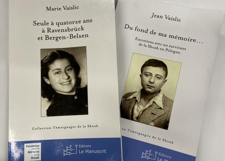 Témoignage De Marie Et Jean Vaislic à Toulouse