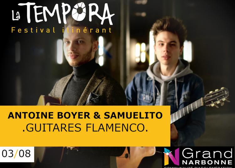 Tempora: Antoine Boyer et Samuelito, Paire d'as de la Guitare à Treilles