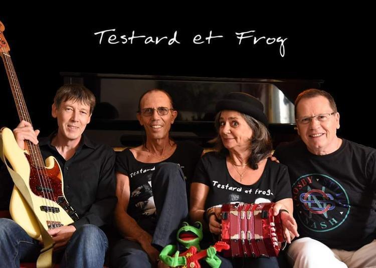 Testard Et Frog Se Déconfinent Et Fêtent La Musique à Paris 18ème