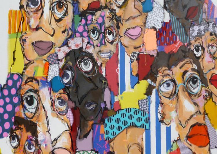 Têtes à têtes, peintures récentes de Maxime Frairot à Fourqueux