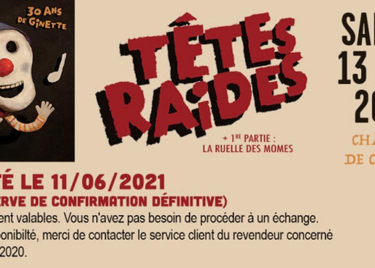 Têtes Raides - report à Chazey sur Ain