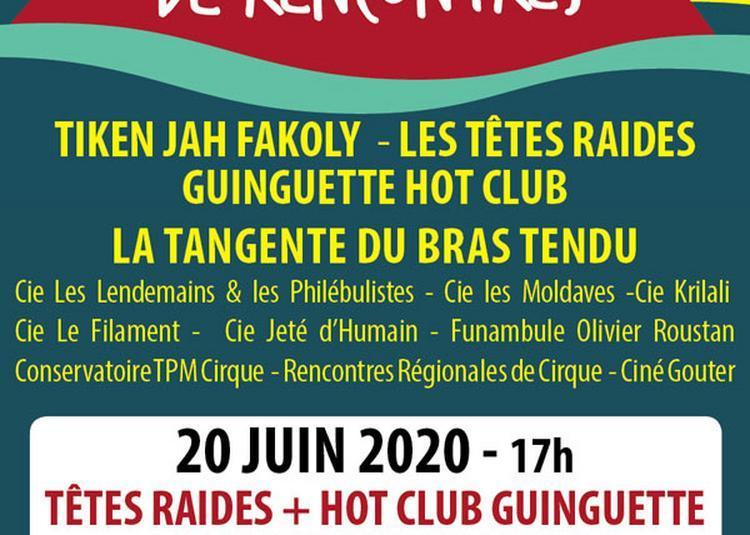 Tetes Raides - Guinguette Hot Club à La Seyne sur Mer
