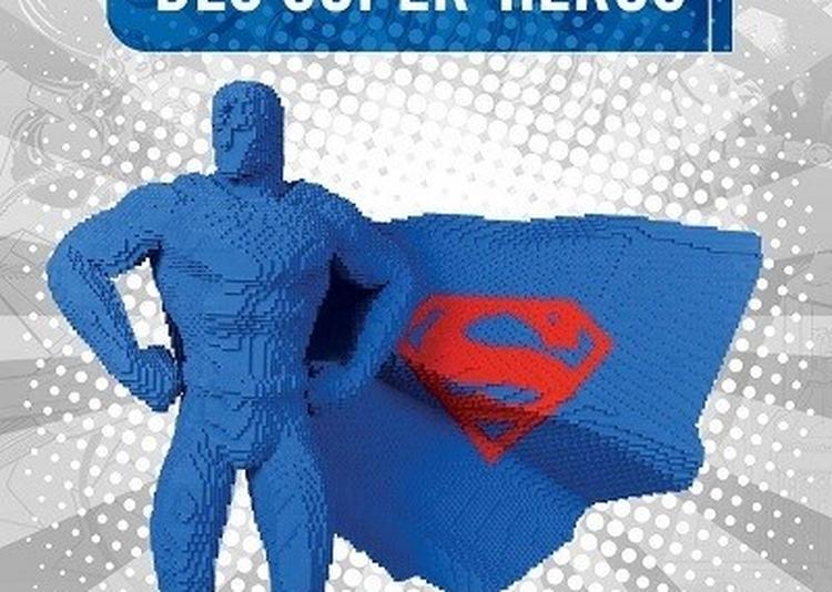 The Art Of The Brick - L'exposition Lego Des Supers Heros à Paris 19ème