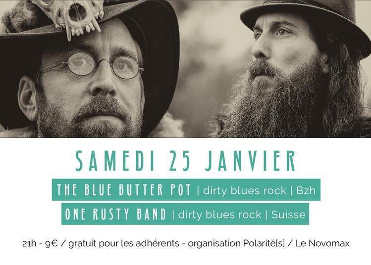 The Blue Butter Pot Et One Rusty Band à Quimper