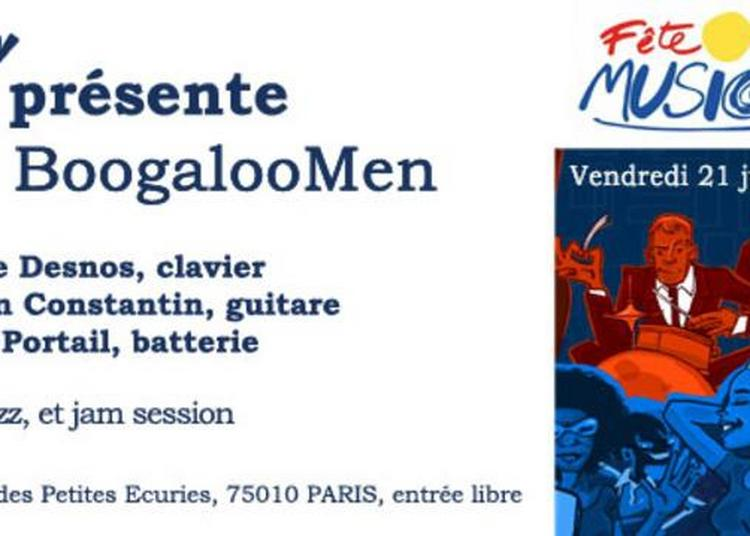 The Boogaloomen à Paris 10ème