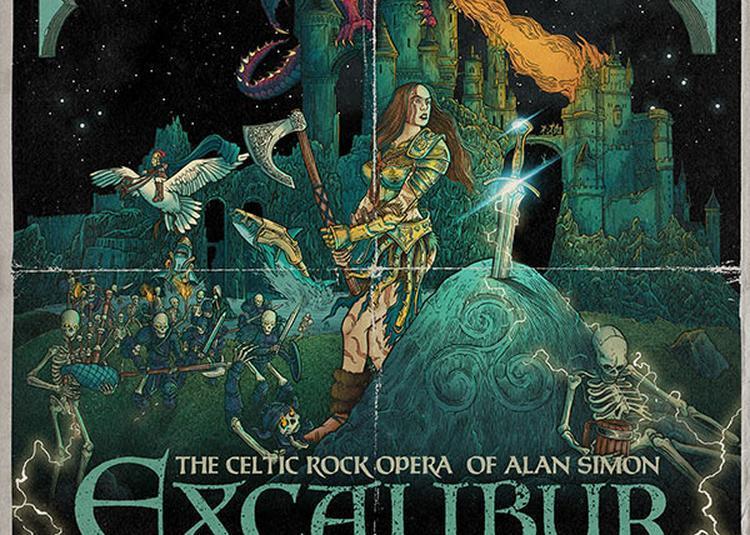 Motocultor Festival 2019- Opéra Rock Celtique Excalibur - Jeudi à Saint Nolff