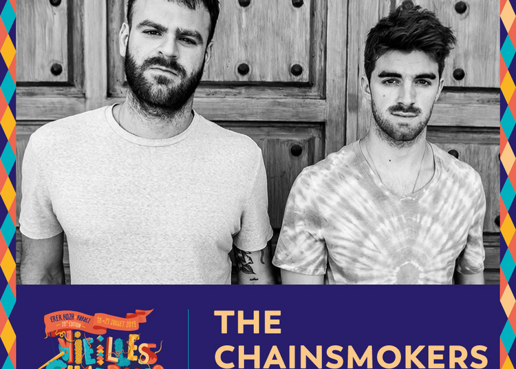 The Chainsmokers / Booba / Columbine à Carhaix Plouguer