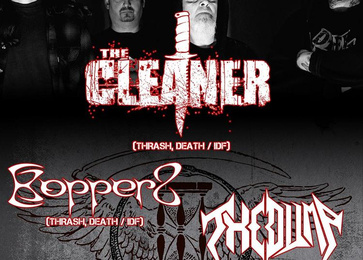 The Cleaner, Kopper8 Et The Dump à Paris 11ème