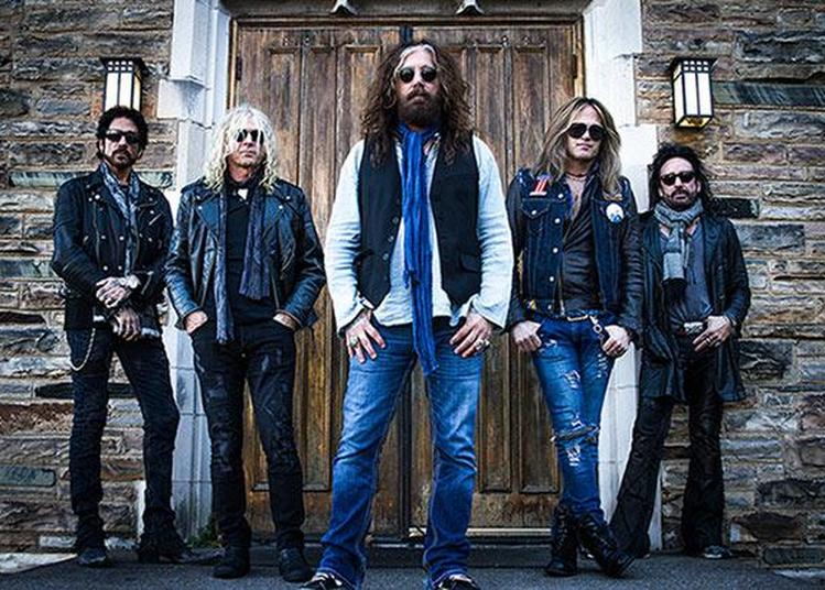 The Dead Daisies à Paris 19ème