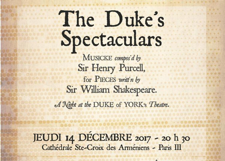 The Duke's Spectaculars à Paris 3ème