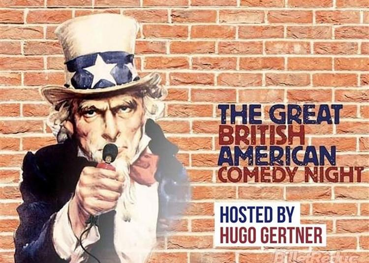 The Great British American Comedy Night à Paris 13ème