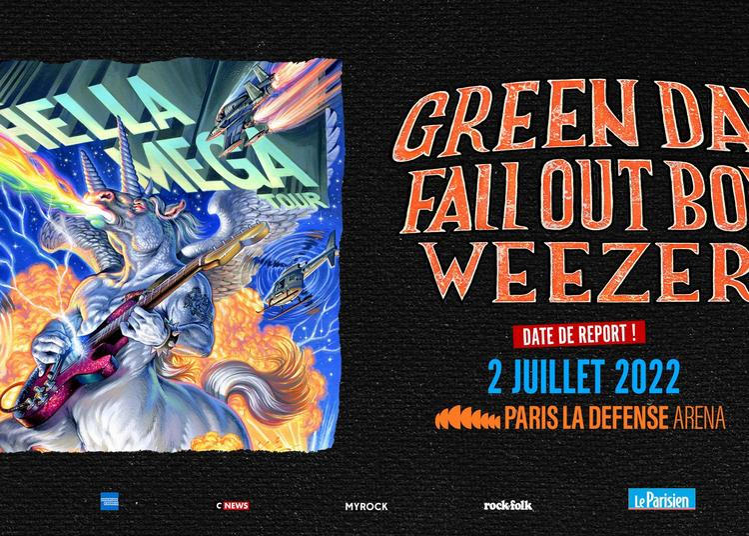 The Hella Mega Tour - Report à Nanterre