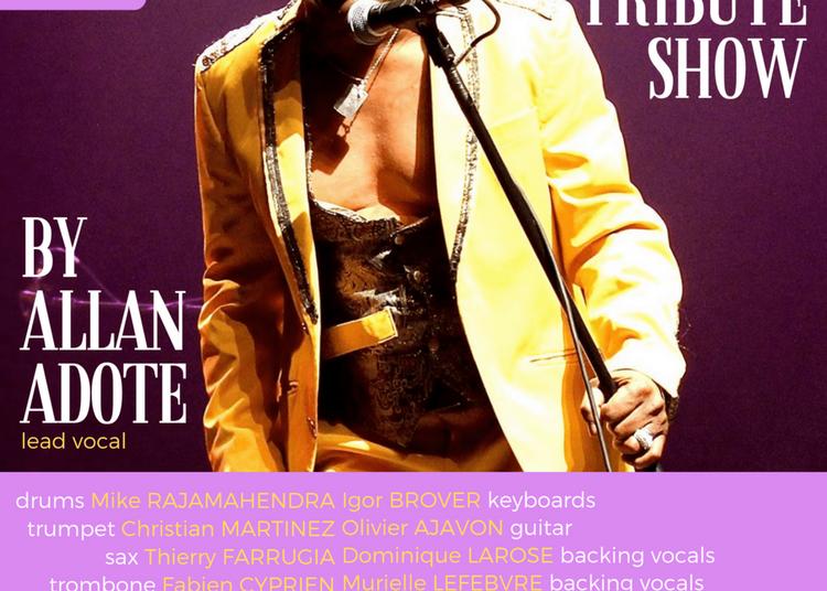 The James Brown Tribute Show By Allan Adote à Paris 14ème