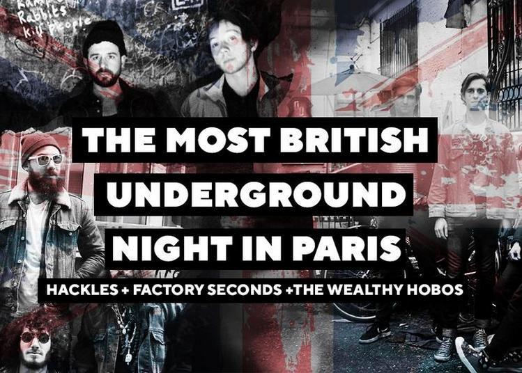 The Most British Underground Night In Paris à Paris 11ème