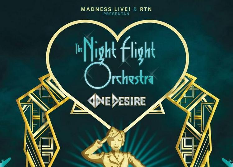 The Night Flight Orchestra à Paris 18ème