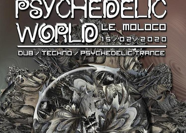 The Psychedelic World Of Lunarmouth à Audincourt