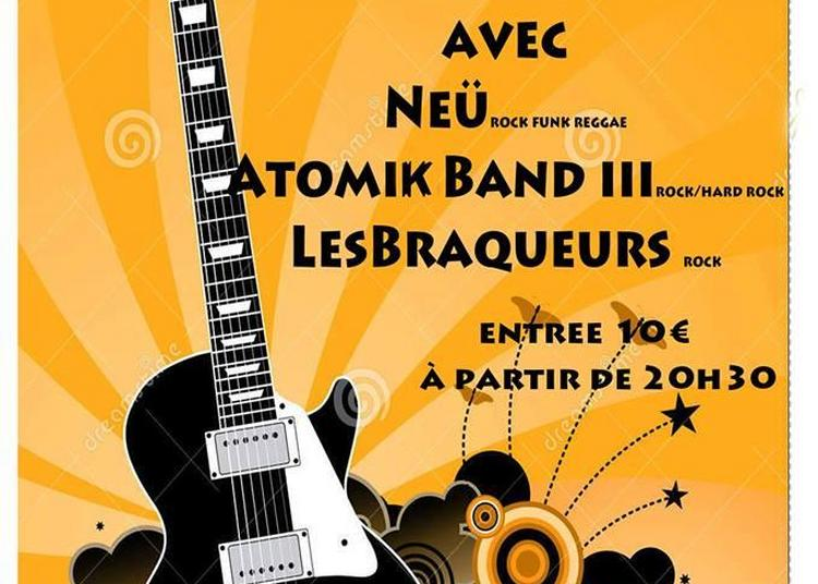 The Spring of Rock : Les Braqueurs x Atomik Band III x Neü à Toulouse