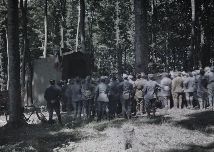 Théâtre au front 1914-1918 à Cachan