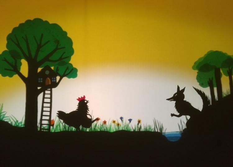 Théâtre d'ombres « Douze petits mois » à Boissy saint Leger