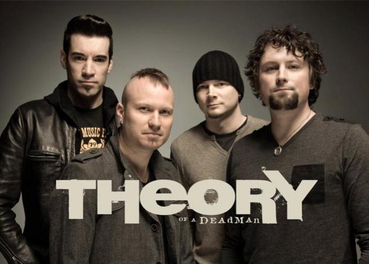 Theory Of A Deadman à Paris 20ème