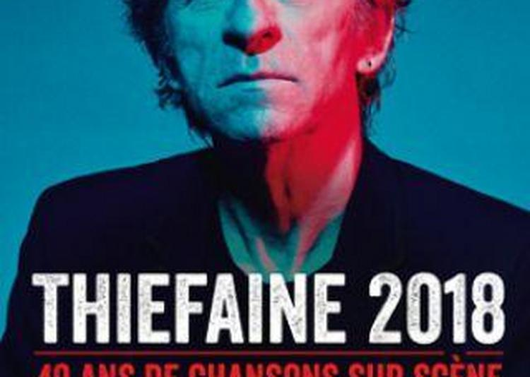 Thiefaine 2018 à Le Grand Quevilly