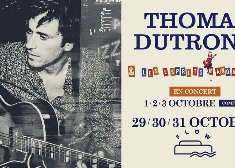 Thomas Dutronc Et Les Esprits Manouches à Paris 7ème