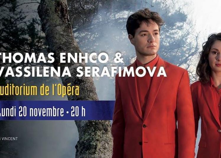 Thomas Enhco Et Vassilena Serafimova à Bordeaux