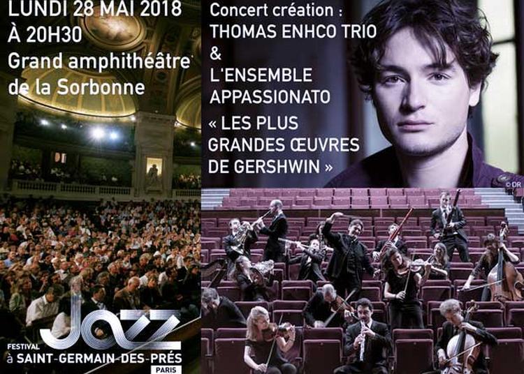 Thomas Enhco trio & l'ensemble Appassionato dirigé par Mathieu Herzog : le monde de Gershwin à Paris 5ème