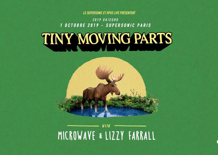 Tiny Moving Parts - Microwave - Lizzy Farrall à Paris 12ème