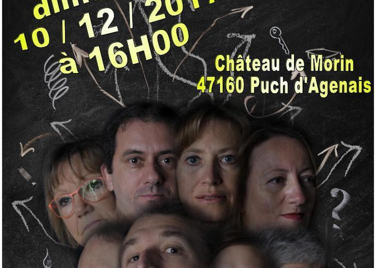 TOC TOC une comédie de Laurent Baffie par la Compagnie Ombres et Lumières à Puch d'Agenais