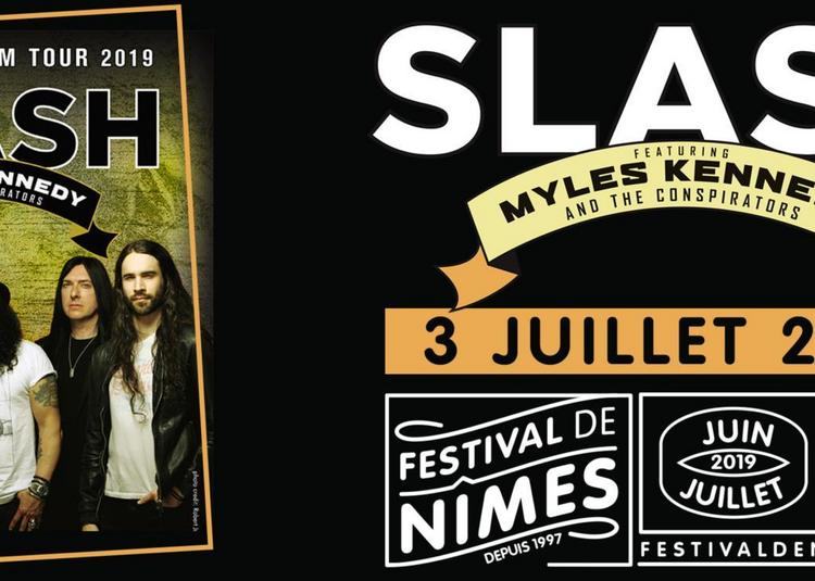 Slash ft Myles Kennedy & The Conspirators à Nimes