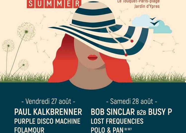 Touquet Music Beach Festival Pass 2j à Le Touquet Paris Plage