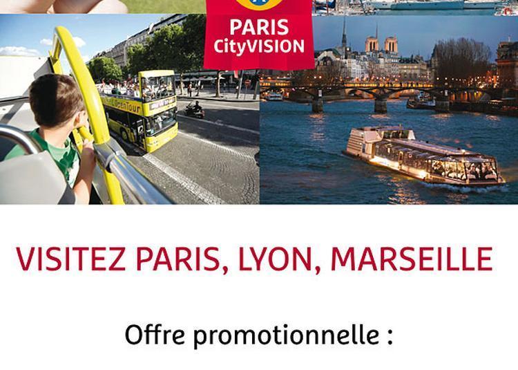 Tour Eiffel+City Tour+Croisiere Cit à Paris 1er