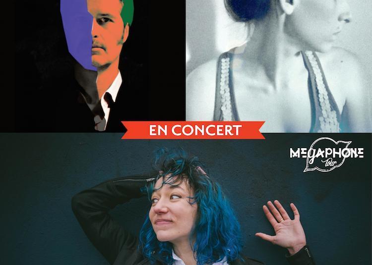 Tournée #2 Sud-Ouest du Mégaphone Tour avec Camille Hardouin - Massy Inc. - Gisèle Pape à Lignieres