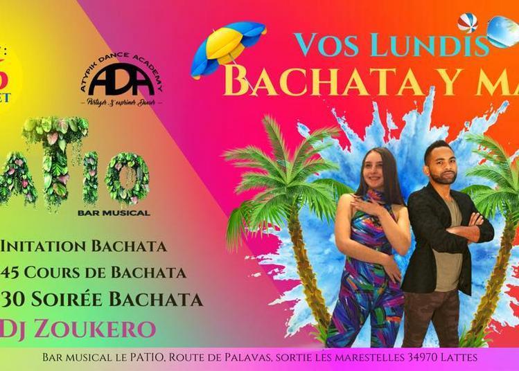 Tous Les Lundis | Bachata Y Mas | Initiation Danse & Soirée Dj à Lattes