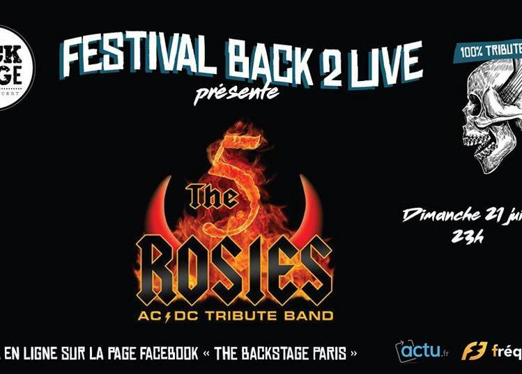 Tribute AC/DC The 5 Rosies à Montrouge
