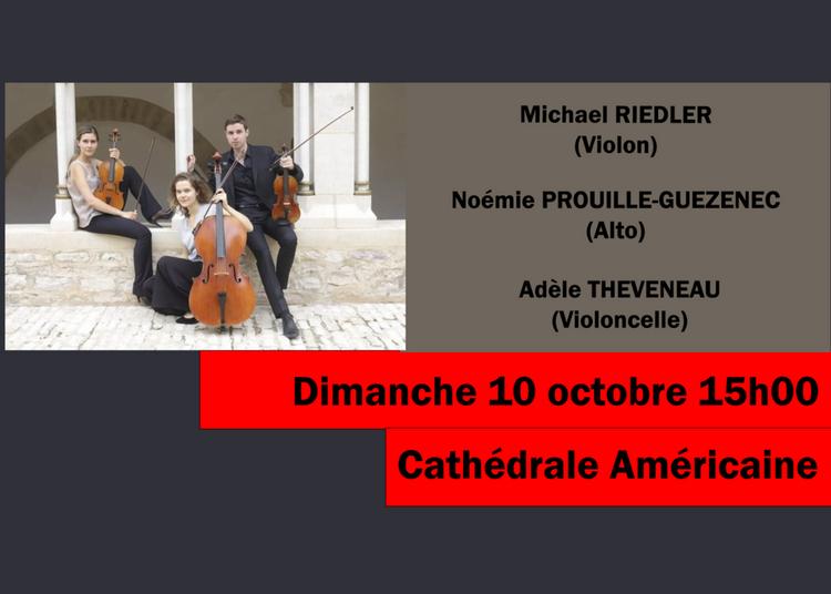 Trio À Cordes De Beethoven, Alan-nihil, Sibelius à Paris 8ème