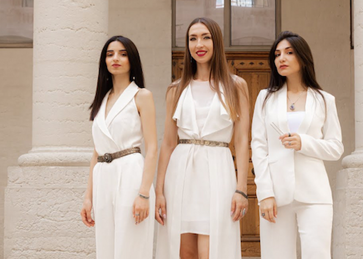 Trio Nazani trio vocal arménien à Grenoble