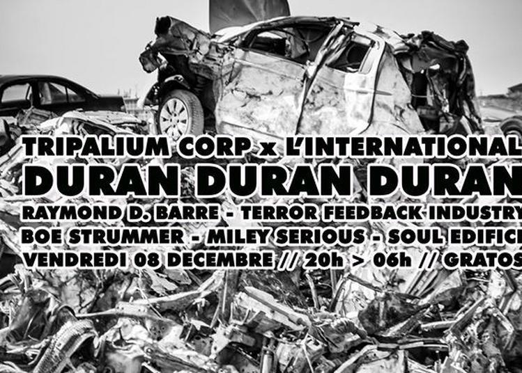 Tripalium: Duran Duran Duran, Boe Strummer, Miley Serious & more à Paris 11ème