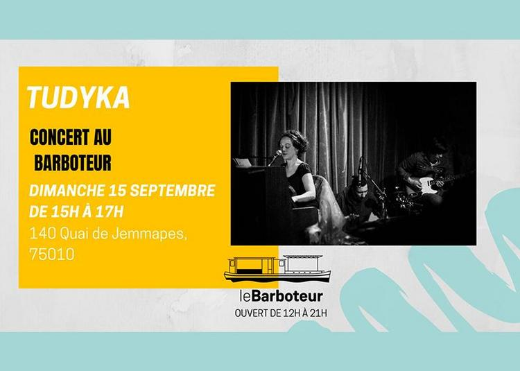 Tudyka à Paris 10ème