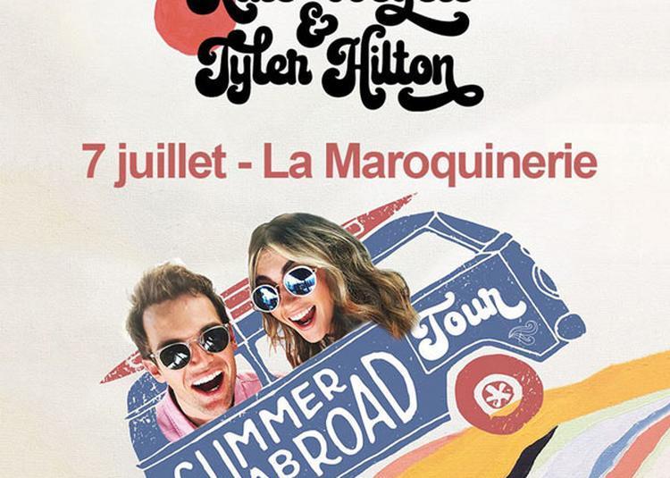 Tyler Hilton & Kate Voegele à Paris 20ème