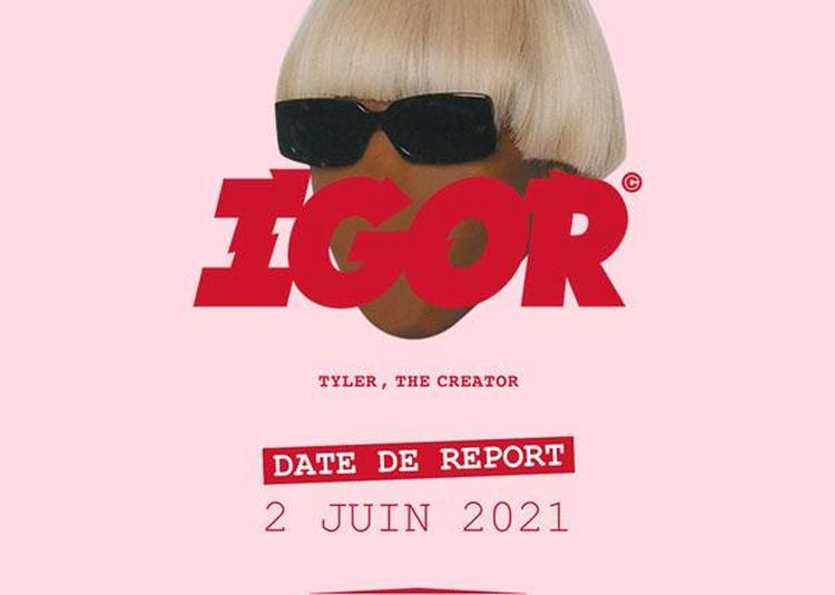 Tyler, The Creator - report à Paris 19ème