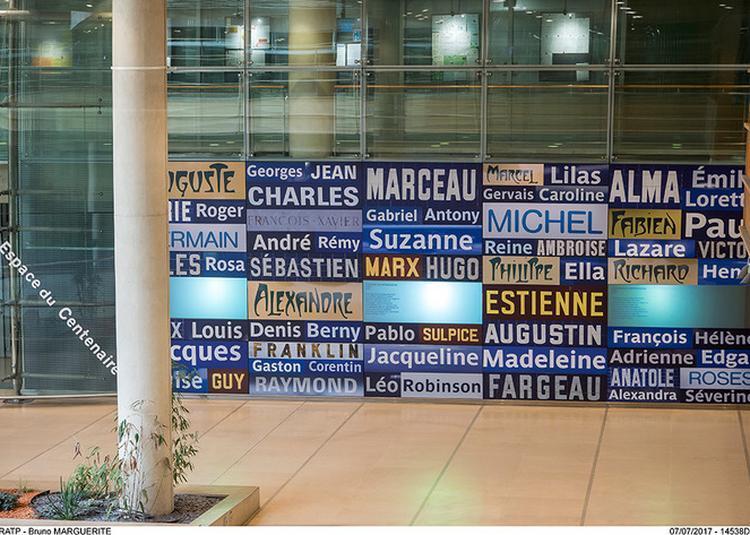 Typo : Quand La Lettre Devient Signe D'identité à Paris 12ème