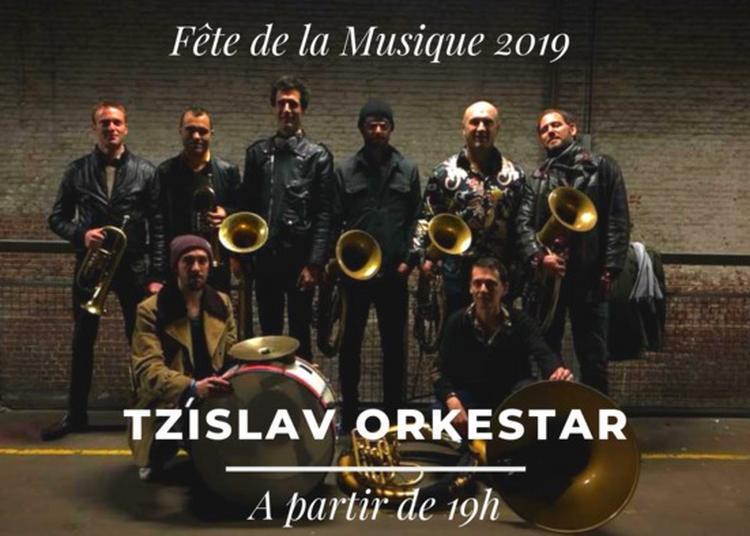 Tzislav Orkestar à Pajol à Paris 18ème
