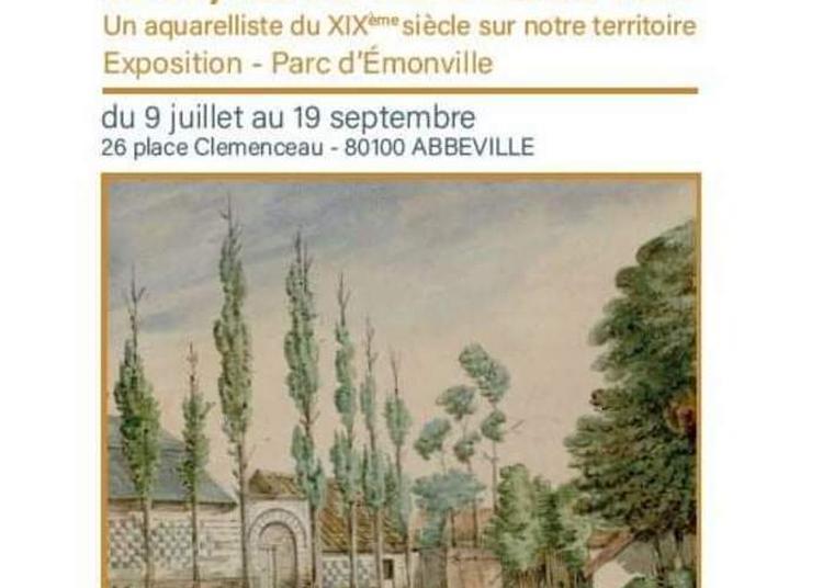 Un Aquarelliste Du XIXe Siècle Sur Notre Territoire : Oswald Macqueron, De Condé-folie À Cayeux-sur-mer à Abbeville
