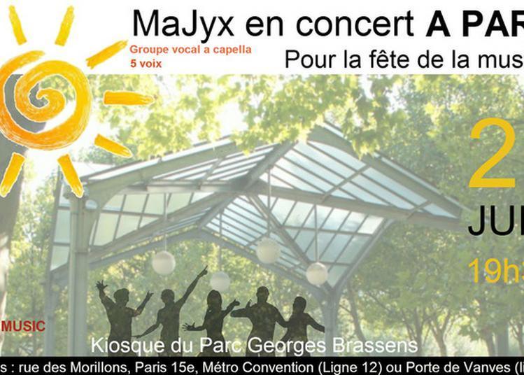 Un été Majyx ! à Paris 15ème