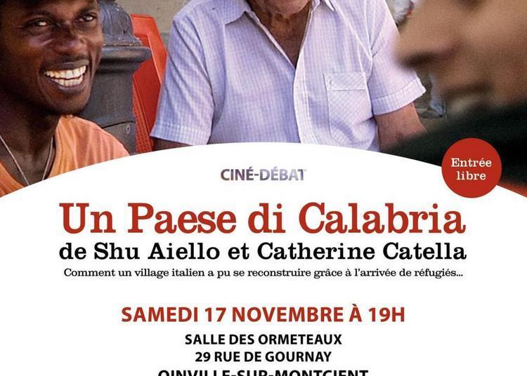 Un Paese di Calabria - Ciné débat à Oinville sur Montcient
