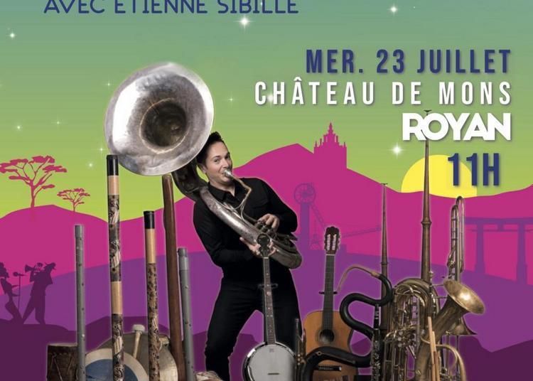 Un Violon sur la Ville présente le Conte de Fée Musical avec Étienne Sibille à Royan