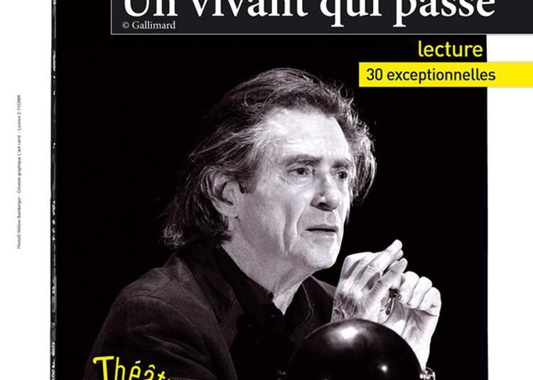 Un Vivant Qui Passe à Paris 18ème