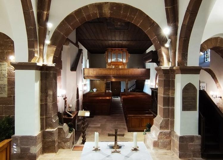 Un Week-end Artistique à L'église : Visites, Exposition Et Concert D'orgues. à Balbronn